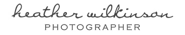 HEATHER WILKINSON | Photographer logo